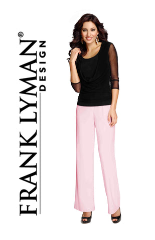 038 (Pink Lined Pant)   Wear with jacket 196382 & camisole 196381