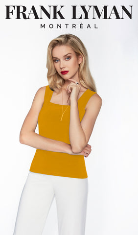 054 (Camisole)  Apple, Ochre