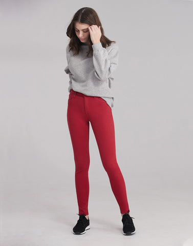 1711 (Skinny Jeans with 30 inch inseam) RED LIP