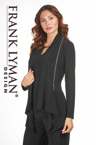 183037 (Black drape jacket only)