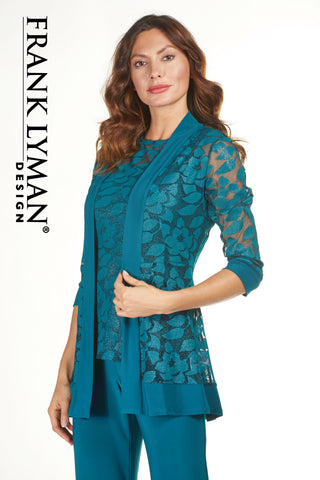 183420 (Teal lace jacket only)