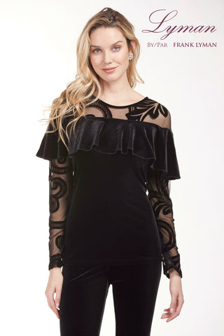 189387 (Black Evening Top Only)