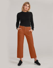 1940CO-L27  (Straight wide leg crop)