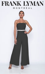 208022 (Jumpsuit)  Wear with matching sheer jacket 208223