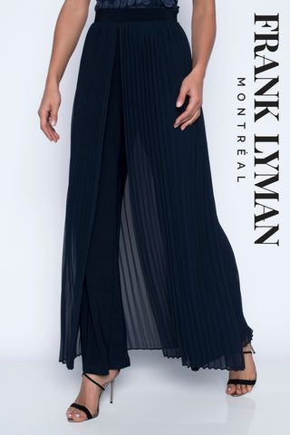 208227 (Palazzo pant)  Midnight & Black  wear with Top 208015 & Jacket 208348