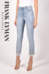 211105U (Jeans)  Approx. 10 inch high rise with 29 inch inseam