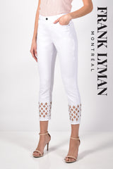 211112U (White Jeans)  Approx. 11 inch high rise with 26 inch inseam