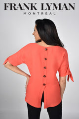 211157 (Tunic)  Yellow & Coral Colours Available