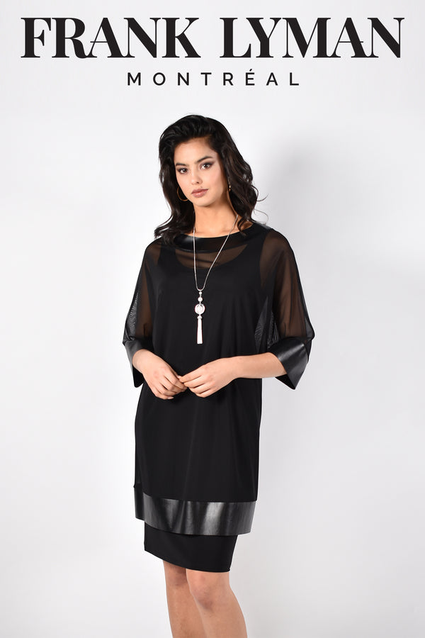 Frank Lyman Montreal Black Dress-Frank Lyman Montreal-Frank Lyman Dresses-Frank Lyman Dresses On Sale-Frank Lyman Summer Dresses-Buy Frank Lyman Dresses On Sale
