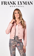 216118U (Blush Jacket)  Shown with Jeans 216110U