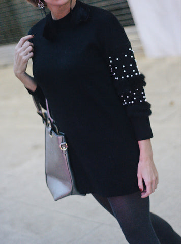 MSF1228 (Pearl Sweater Only)   One size fits size small or medium