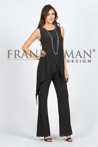 53009 (Black jumpsuit only, no jewelry)  70% off