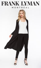 53060 (Duster Jacket)   Shown with legging 002 & camisole 054