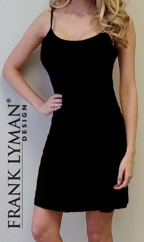 56046 (Black Slip Dress)  50% Off