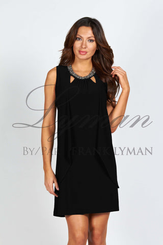 59015 (Black Cocktail Dress)  Also available in navy