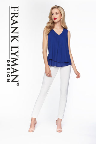 082 (White Pant)  White Camisole 010 now available
