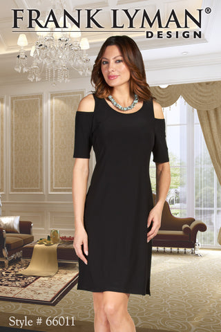 66011  (Black Dress! Necklace not included)  38 inches long.