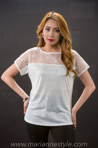 TEJ 953 (Lace Top Only) 70% OFF