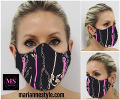 M-20139 (Non-medical facemask)  Can wear with matching suit 201452-201451-201239