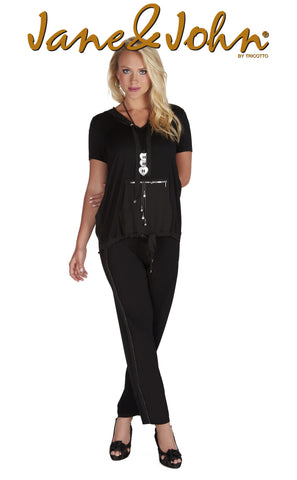 J-411 (Black pant/pantalone only) 50% Off