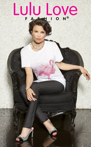 L-803 (Flamingo t-shirt only)
