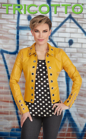 612-S21 (Jacket)  Shown with black jegging 960 & top J-420
