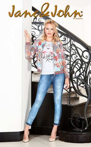 J-221 (Jeans) 50% Off     Shown with Jacket J-219