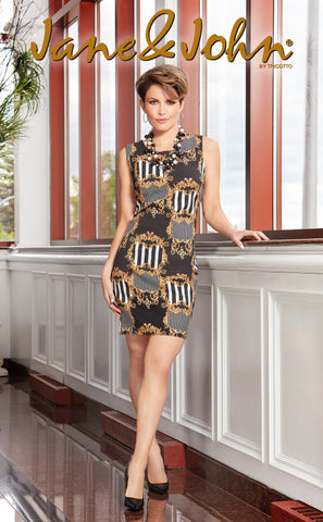 J-195-S20 (Shorter length Dress Approx. 37 inches long)