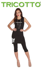 667-S20 (Tunic with Cap Sleeve) Shown with legging 690