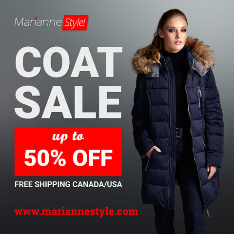 1211RS (Parka with faux fur) 50% Off