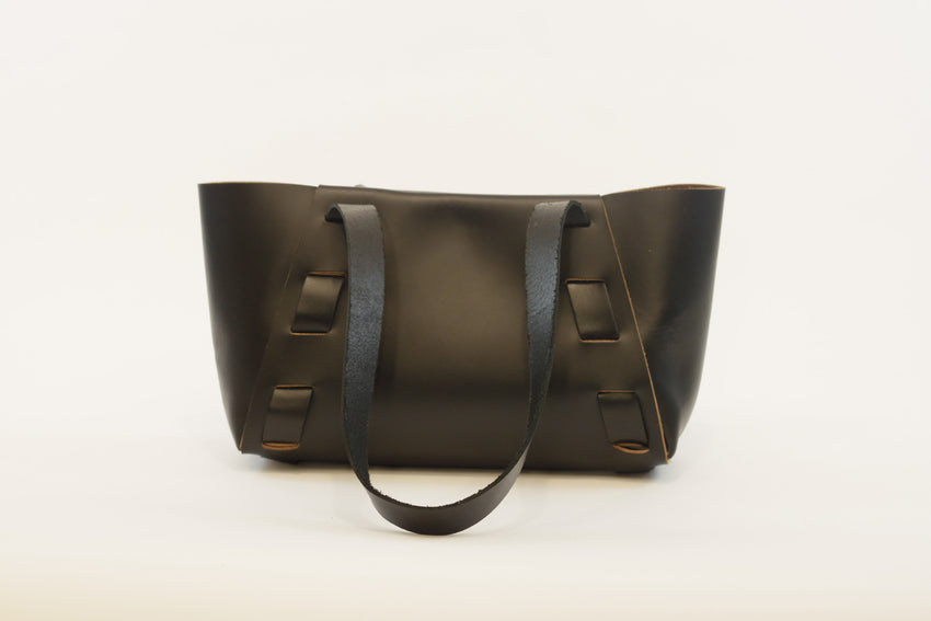 Handmade Armstrong Mini Classic Leather Tote by Adelle Stoll