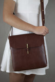 Adelle Stoll Handmade Forestville Crossbody Handbag in Leather