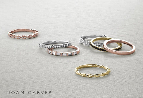 Eternity bands and wedding ring ideas Noam Carver collection