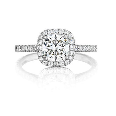 FOREVERMARK™ HALO RING - KLARITY LONDON