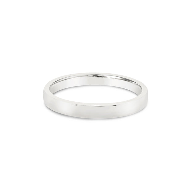 18k Gold | 2.5mm Stackable Flat Band