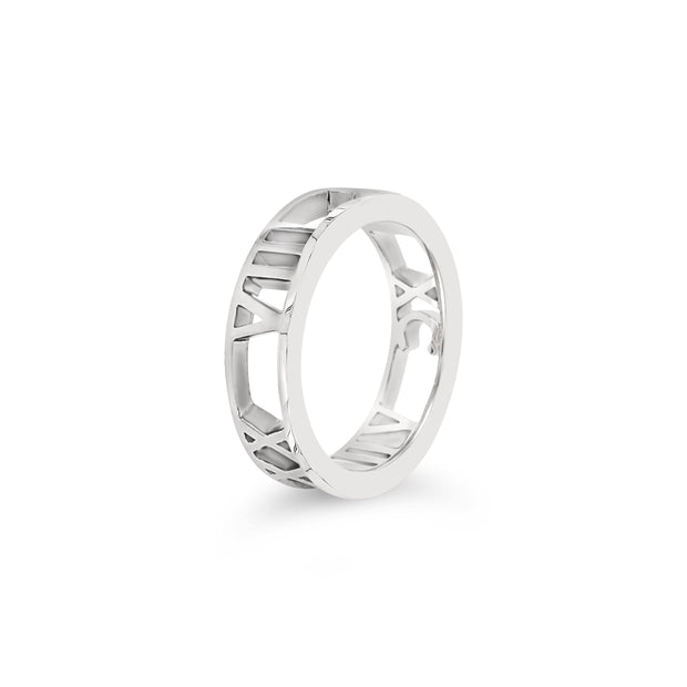 Personalise Roman Numeral Ring