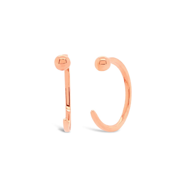 Gold Cuff Earrings - KLARITY LONDON