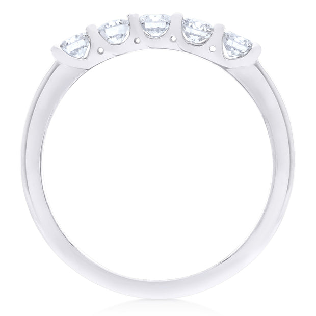 FOREVERMARK™ FIVE STONE DIAMOND RING - KLARITY LONDON