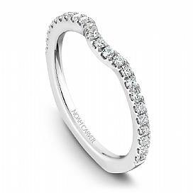 18k White Gold Cushion Halo Double Band Diamond Ring  B015-01A - KLARITY LONDON
