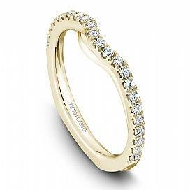 18k Yellow Gold Cushion Halo Double Band Diamond Ring  B015-01YA - KLARITY LONDON