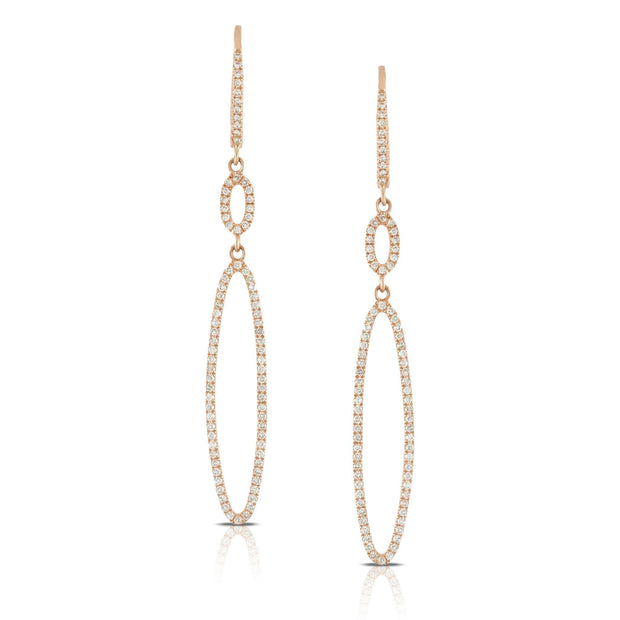 DIAMOND FASHION EARRING by Dove - KLARITY LONDON