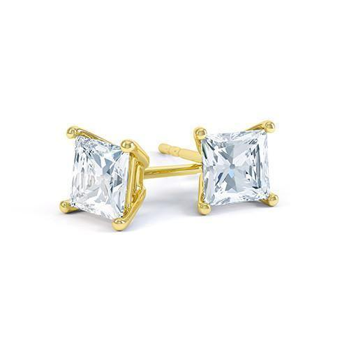 Princess Diamond Studs