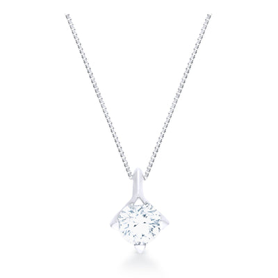 FOREVERMARK™ SOLITAIRE PENDANT - KLARITY LONDON
