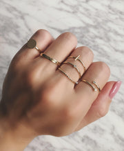 Plain Bar Ring