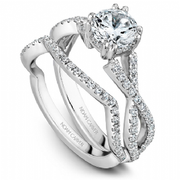 Diamond Infinity Shoulder Ring