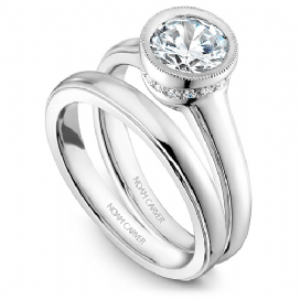 Bezel Diamond Ring