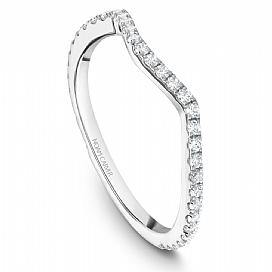 Diamond Cross Over Pave Ring