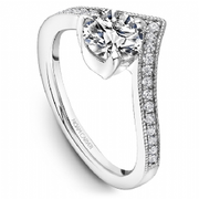 Wishbone Diamond Ring