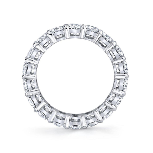 Oval Cut Eternity Ring - KLARITY LONDON