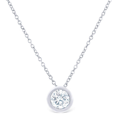 Classic Bezel Pendant £1400 - KLARITY LONDON